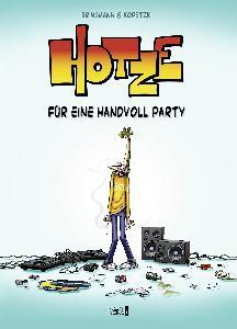 Bringmann&Kopetzki HOTZE 1- FÜR EINE HANDVOLL PARTY Buch