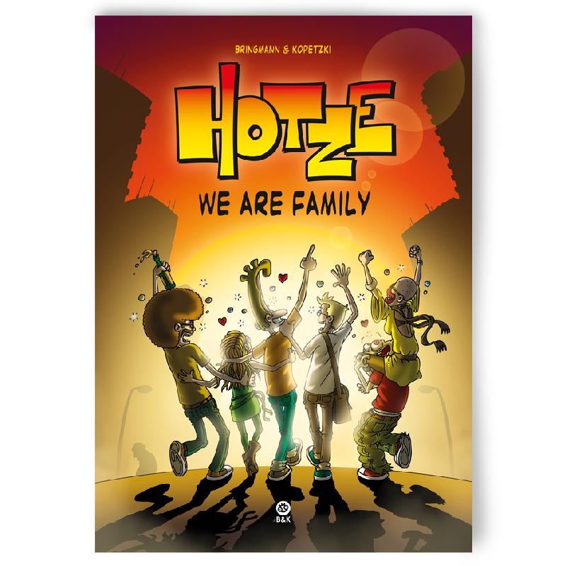 Bringmann&Kopetzki HOTZE 3 - WE ARE FAMILY Book