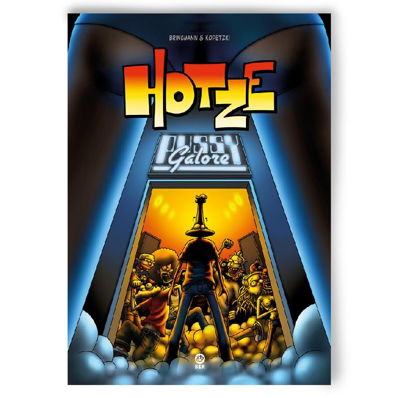 Bringmann&Kopetzki HOTZE 2 - PUSSY GALORE Buch