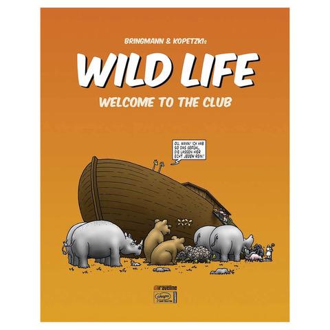Bringmann&Kopetzki WILD LIFE 1 - SIGNIERT Buch, Restposten Hardcover