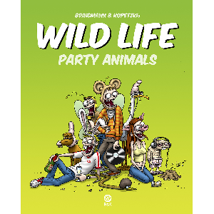 Bringmann&Kopetzki Wild Life - Party Animals Buch